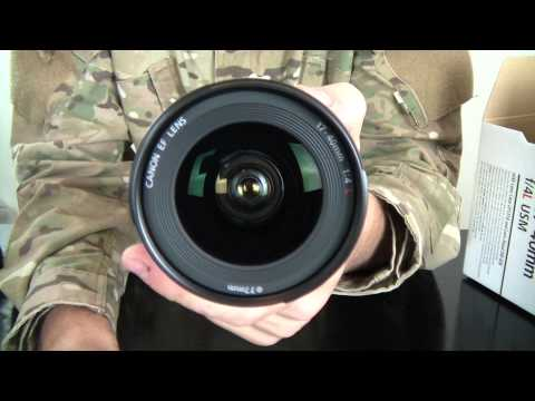 Unboxing Canon 60D with Canon EF 17-40mm f/4L USM Ultra Wide Angle Lens and Flycam Nano