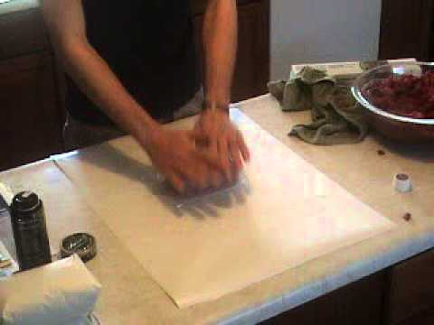 Prepare ground deer meat for freezer