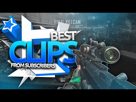 BEST COD Trickshots & Clips from Subs! BO2 & MW2 Trickshot & Sniper Montage! (Call of Duty Montage)