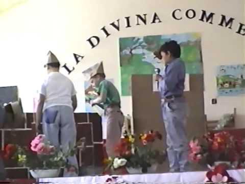 Recita scuola elementare anno 93 San Costantino Calabro - L'emigrazione
