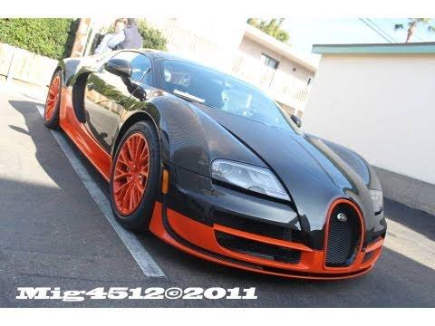 **RARE!! 1 of 5!! Bugatti Veyron Super Sport World Record Edition