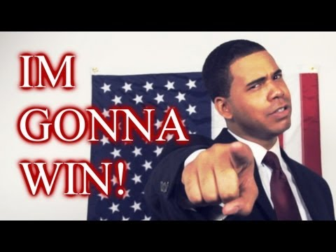 Barack Obama - IM GONNA WIN! (I-m Goin- In - SPOOF) Now on iTunes!