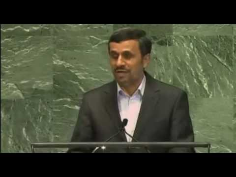 President of Iran Mahmoud Ahmadinejad: Rule of Law - September 24, 2012
