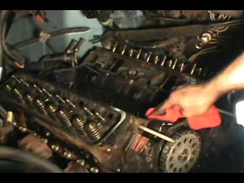 part 4, Vortec 5.7 350 head gasket, water pump &amp; timing chain replacement, Chevy/ GMC
