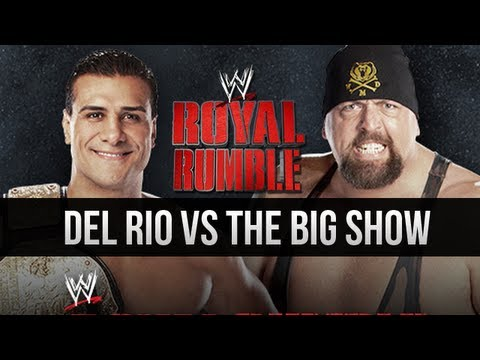 WWE Royal Rumble 2013 - Alberto Del Rio vs Big Show (WWE 13 Machinima)