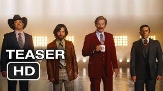 Anchorman 2: The Legend Continues Official Teaser (2013) Will Ferrell Movie HD