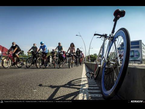 VIDEOCLIP Vrem un oras pentru oameni! - 2 - marsul biciclistilor, Bucuresti, 23 aprilie 2016 [VIDEO]