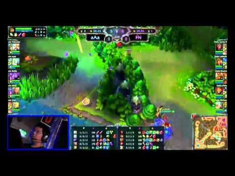 LoL - Finals - Game 2 - Fnatic vs aAa - League of Legends