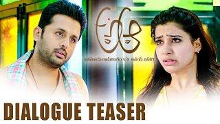A Aa Comedy Dialogue Trailer || Nithiin || Samantha || Anupama || Trivikram Srinivas
