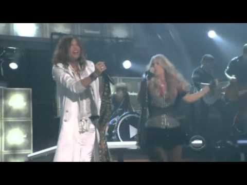 Carrie Underwood and Steven Tyler live - Undo it / Walk This Way - Full version