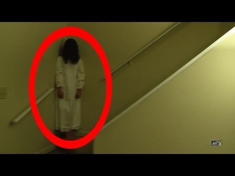 REAL ghost girl caught on video tape 2 (paranormal activity)