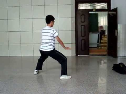 The KungFu kid in Zhengzhou