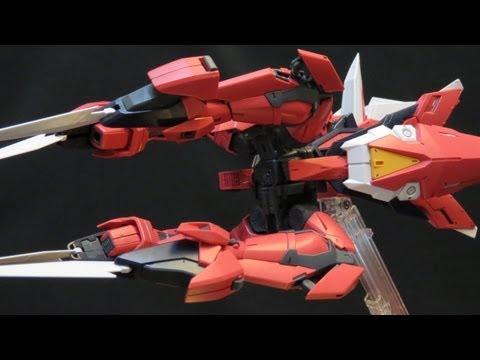 MG Aegis Gundam (Part 5: Transformation) Gundam Seed Athrun Zala's Gunpla model review