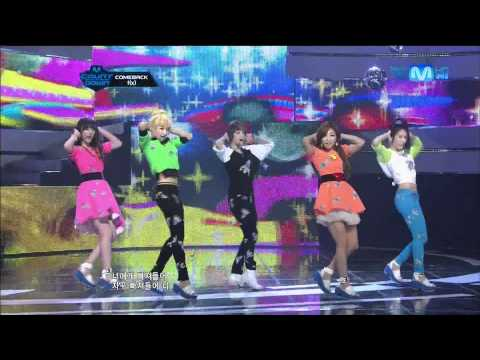 120614 Mnet M!CountDown f(x) Comeback Stage - Jet + Intro + Electric Shock
