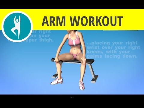 Workout for outer forearms: One Arm dumbbell wrist curls with palms facing down
