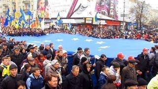 Житомиряне уехали в Киев на Евромайдан