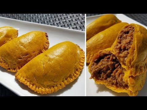 Jamaican Beef Patties Recipe| How To Make Jamaican Patties