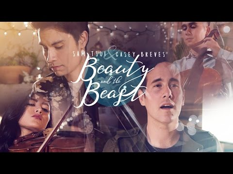 Beauty and the Beast (Beauty and the Beast OST Cover) [Feat. Casey Breves]
