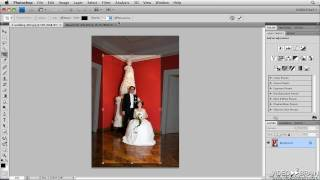 Adobe Photoshop CS4 Tutorial: Cropping and Straightening an Image