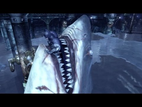 Batman Arkham City - Walkthrough - Part 14 - Shark Attack (Gameplay & Commentary) [360/PS3/PC]