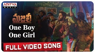 One Boy One Girl Full Video Song || MAJILI