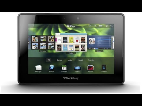 BlackBerry PlayBook Tablet Review -jfIsF9m2V6s