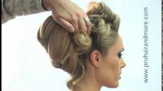 Como Hacer Hermoso Peinado de Gala Paso a Paso