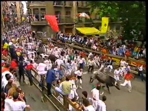 Encierro San Fermín   7 de julio de 1992 480p