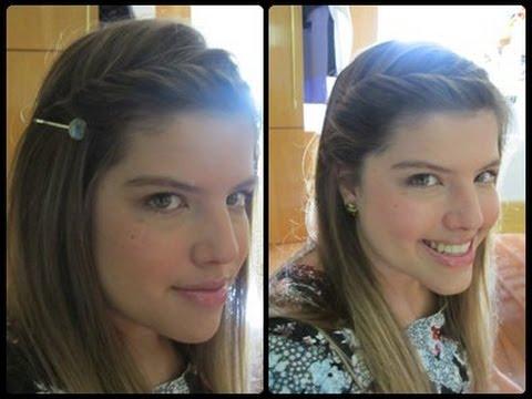 ♥ Seis penteados para ir a escola / faculdade -fáceis, rápidos e criativos