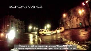 ДТП в Житомире. Запись с видеорегистратора