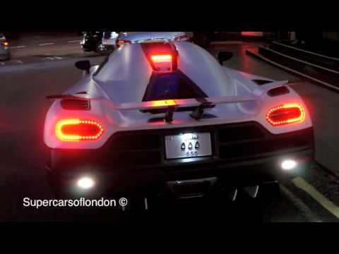 Arab Koenigsegg Agera R In London!