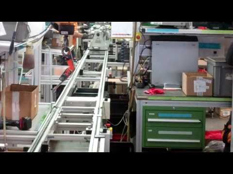 KTM Factory Tour: 2011 LC8 engine production line - 1