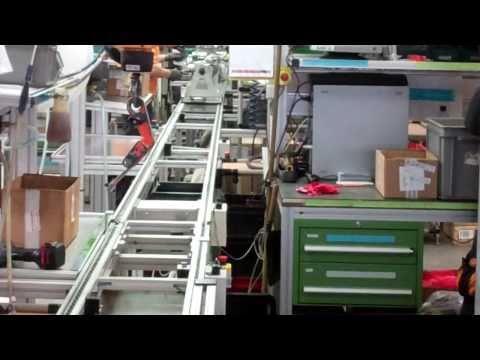 KTM Factory Tour: 2011 LC8 engine production line - 1