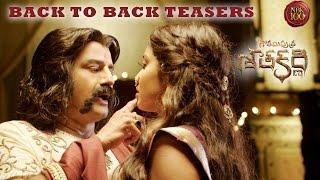 Gautamiputra Satakarni Back To Back Release Teasers