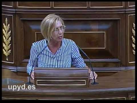 Rosa Díez UPyD 02/09/11: Hay que reformar la Constitución para protegerla de ustedes.