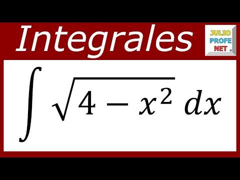 Integral resuelta por Sustitución Trigonométrica