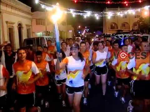Recorre Hermosillo Antorcha Juegos Panamericanos Jalisco 2011