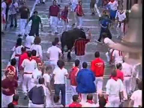 Encierros de pamplona, San Fermin 2007  Los mejores momentos