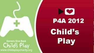 Child's play charity P4A