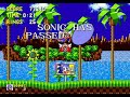 Sonic the Hedgehog Green Hill Zone Act 2 Speed Run