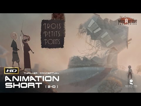 TROIS PETITS POINTS (HD) Magnificent Animated Film By L.ANDREAE (Sketchozine.com Vol.8)