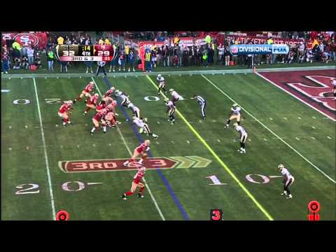 Alex Smith amazing game winning playoff TD pass