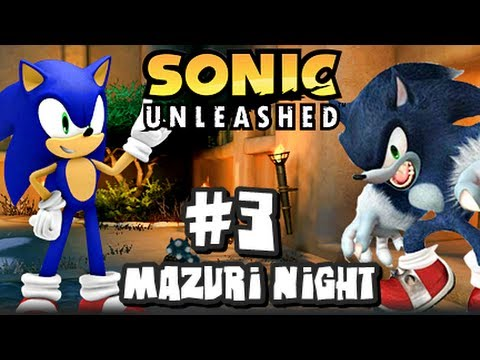 Sonic Unleashed (360/PS3) - (1080p) Part 3 - Mazuri Night