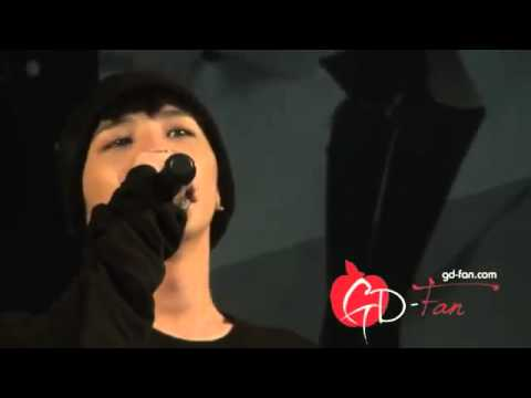 [FANCAM] 110625 G-Dragon - Stupid Liar, Lies, Last Farewell + Talk @ LG Optimus mini concert
