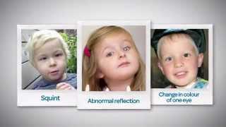 Rosie has retinoblastoma