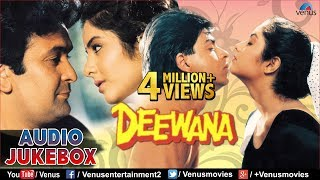 Deewana - 90\'s Romantic Songs  Shahrukh Khan, Rishi Kapoor, Divya Bharti  JUKEBOX  Hindi Songs