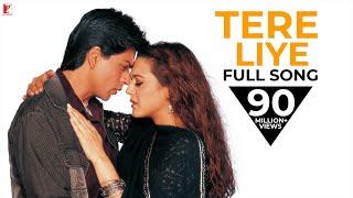 Tere Liye - Full Song  Veer-Zaara  Shah Rukh Khan  Preity  Lata Mangeshkar  Roop Kumar Rathod