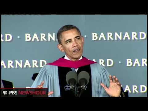 Watch President Obama's Commencement Speech at Barnard College