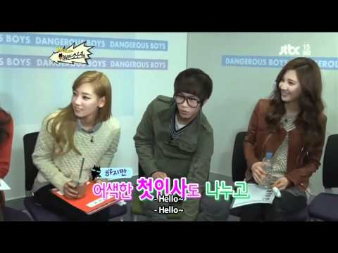 [Eng Sub][111218] SNSD and The Dangerous Boys EP 01.1 [4/5]