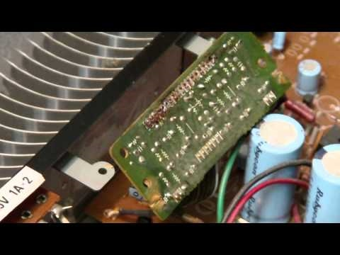 FISHER CA-39A Integrated Stereo Amplifier Repair-Part 1